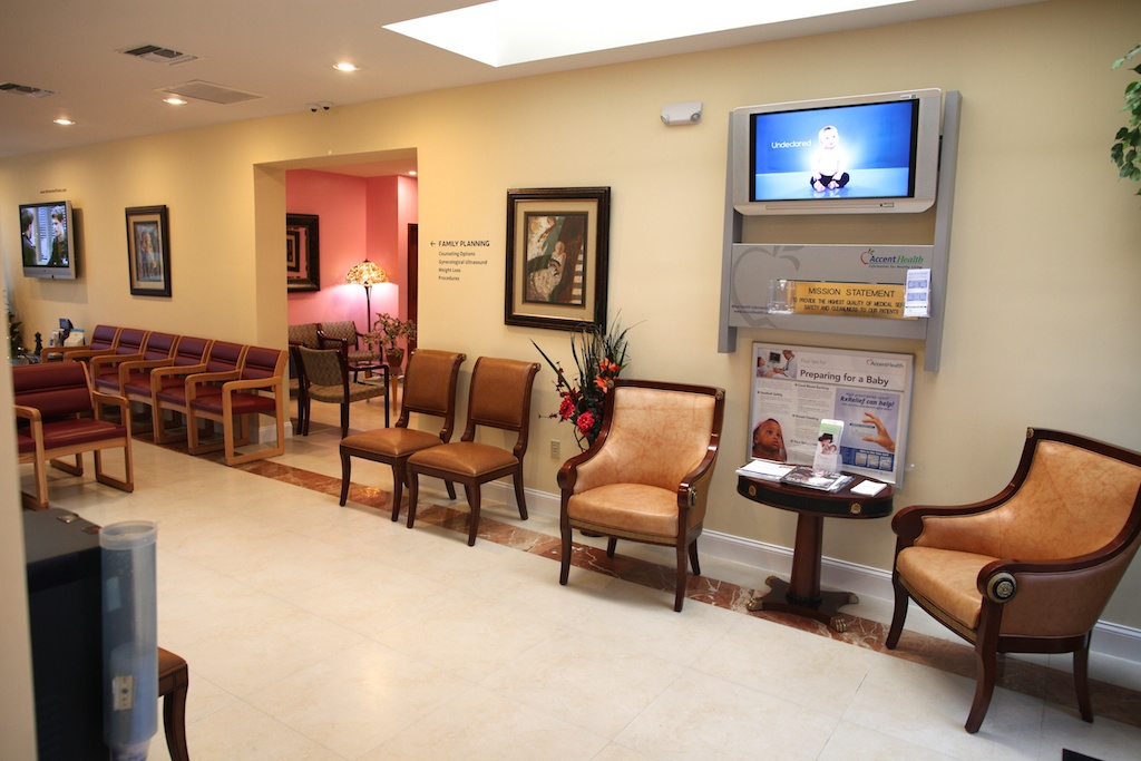 Key Biscayne Florida Women & Teens Miami Office Abortion Clinic Photo Waiting Area